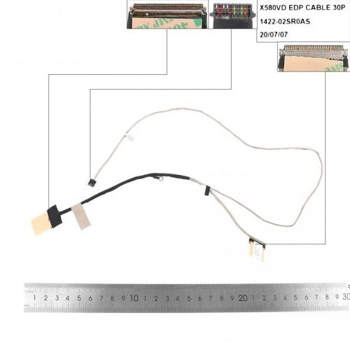 CABLE FLEX DE PANTALLA ASUS X580VD X580BP X580 X580B N580 N580VD SERIES   1422-02SR0AS