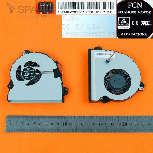 VENTILADOR CPU ASUS ROG STRIX GL553V
