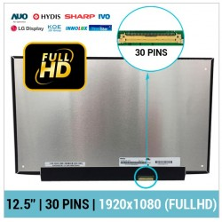 "PANTALLA 12.5"" FULL HD LED SLIM 