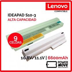BATERIA LENOVO COMPATIBLE | IDEAPAD S100 | BLANCA | ALTA CAPACIDAD