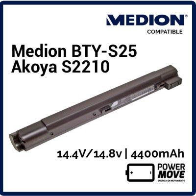BATERIA MEDION COMPATIBLE | AKOYA S2210 ( 04240 )