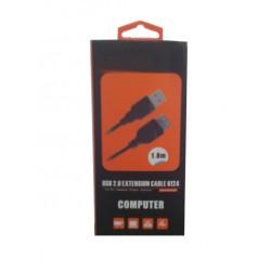 CABLE EXTENSIÓN USB 2.0   1.8M