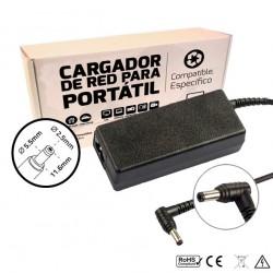 CARGADOR ASUS COMPATIBLE | 19V / 3.42A | 5.5 x 2.5mm | 65W