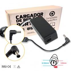 CARGADOR FUJITSU COMPATIBLE | 19V / 3.16A | 6.5 x 4.4mm | 60W