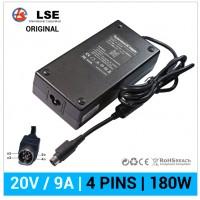 CARGADOR LI SHIN ORIGINAL 180W 20V / 9.0A | 4 PINS