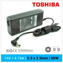 CARGADOR TOSHIBA COMPATIBLE | 19V / 4.74A | 5.5 x 2.5mm | 90W