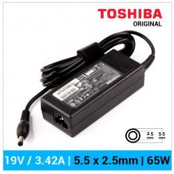 CARGADOR TOSHIBA ORIGINAL | 19V / 3.42A | 5.5 x 2.5mm