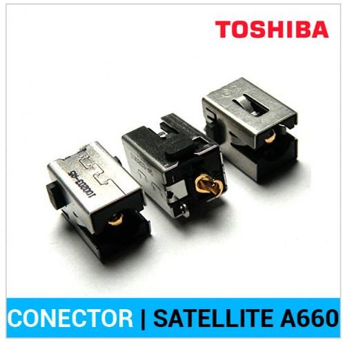 CONECTOR CORRIENTE   TOSHIBA SATELLITE A660
