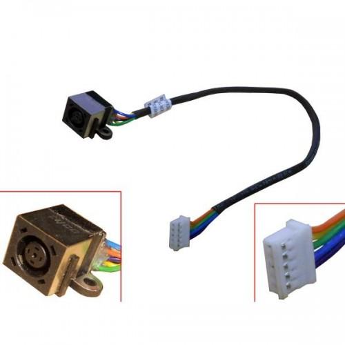 Conector Corriente DC Jack con cable