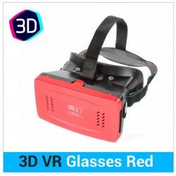 GAFAS 3D PARA SMARTPHONE | RITECH 3D VR | ROJO
