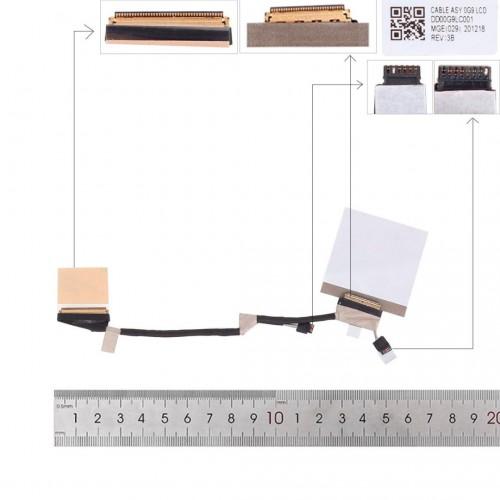 CABLE FLEX DE PANTALLA HP CHROMEBOOK X360 14B-CA0000 SERIES   DD00G9LC001