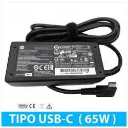 CARGADOR HP 65W USB-C | 5V/3A 9V/3A 12V/5A 15V/4.33A 20V/3.25A