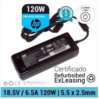 CARGADOR HP ORIGINAL | 18.5V / 6.5A | 5.5 x 2.5mm | 120W ( REFURBISHED )