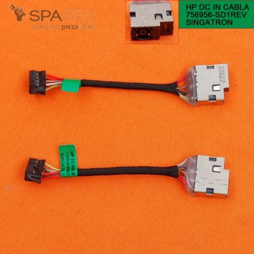CONECTOR CORRIENTE HP ENVY 17-FXXXXX 17-PXXXXX