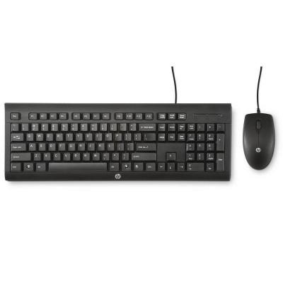 HP C2500 COMBO TECLADO Y RATÓN USB NEGRO
