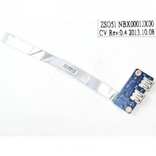PLACA USB CON FLEX PARA PORTÁTIL