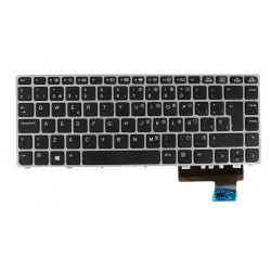 TECLADO ESPAÑOL HP ELITEBOOK FOLIO 9470M 9480M SERIES | CON MARCO SILVER SIN POINT STICK | 702843-031 697685-031