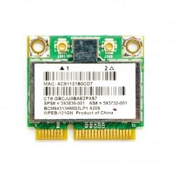 TARJETA WIRELESS BCM94313HMG2LP1 BRCM1050 MINI WIRELESS CARD | 593836-001 593732-001