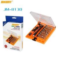 JUEGO DE DESTORNILLADOR 45 EN 1 JAKEMY JM-8130