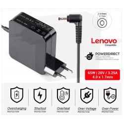 CARGADOR LENOVO COMPATIBLE   20V / 2.25A   4.0 x 1.7mm   45W DIRECTO A PARED ( SIN CABLE )
