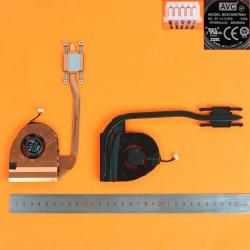VENTILADOR CON DISIPADOR CPU LENOVO THINKPAD T460 SERIES | 00UP187 00UP186 00UP185