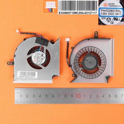 VENTILADOR CPU MSI GE75 GP75 GE63