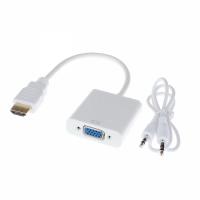 ADAPTADOR HDMI A VGA + AUDIO
