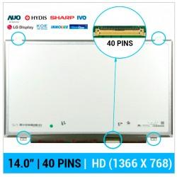 """PANTALLA 14.0""""   HP 340 G1 345 G2 SERIES"""