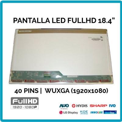 """PANTALLA 18.4""""   FULL HD LED   40 PINS (01787)"""