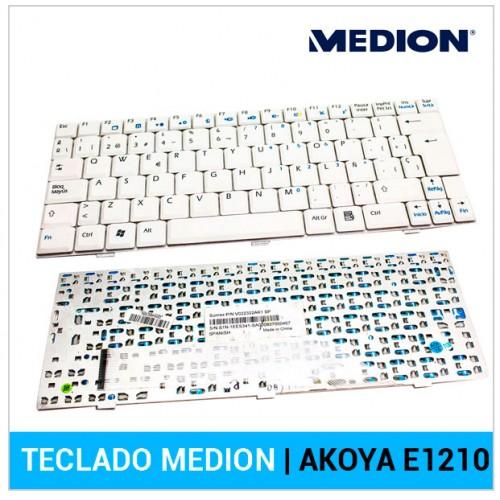 TECLADO ESPAÑOL MEDION | AKOYA E1210