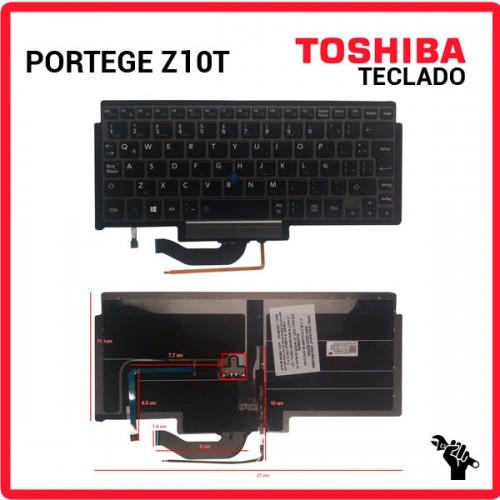 TECLADO LATINO TOSHIBA | PORTEGE Z10T